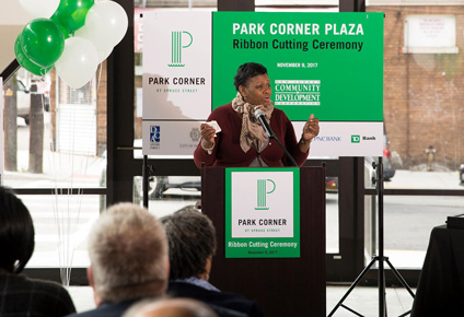 Opening of Park Cork Plaza